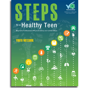Steps to a Heathy Teen Curriculum cover