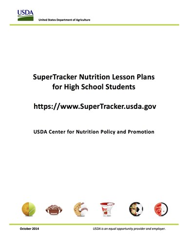 Supertracker Lesson Plans